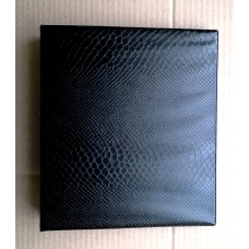 Альбом с кольцевым механизмом формат optima. Цвет черный.