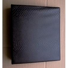 Альбом с кольцевым механизмом формат optima. Цвет коричневый.