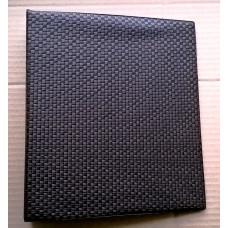 Альбом с кольцевым механизмом формат optima. Цвет коричневый (шахматка).