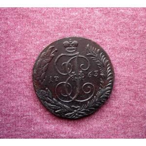 5 копеек 1763 года см буквы крупные