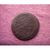 5 копеек 1763 года спм буквы крупные
